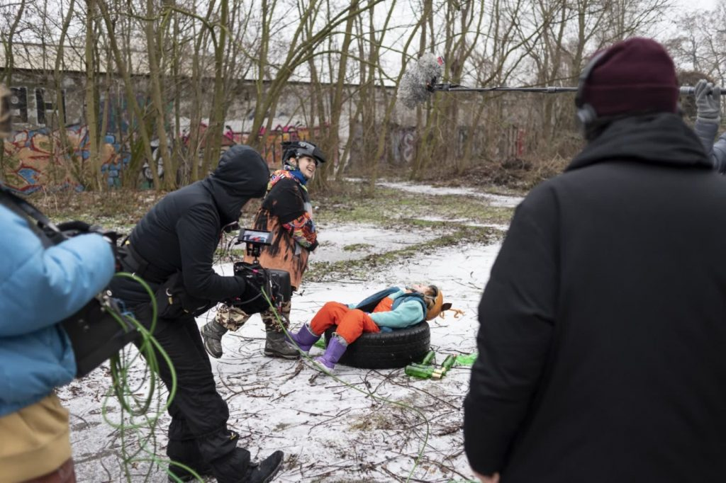 Apollo and Artemisia - making of pictures by Isabelle Oestlund - outside