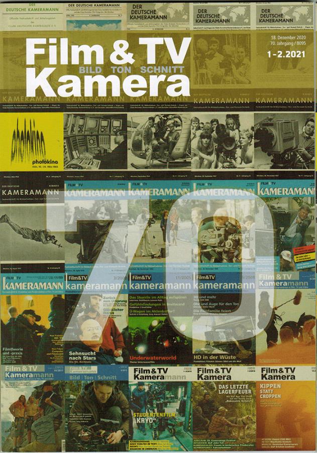 Film TV Kamera cover journal - Jana Pape
